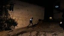 Sokakta kan izi gören vatandaşlar polise haber verdi... Karaman'da şüpheli ölüm