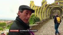 Carcassonne : des cercles jaunes sur les remparts sèment la discorde
