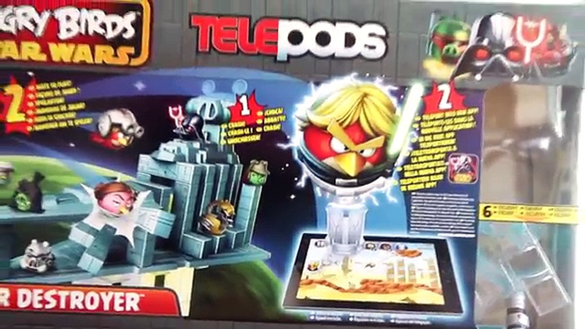 Angry Birds Star Wars 2 Star Destroyer Telepods Video Dailymotion