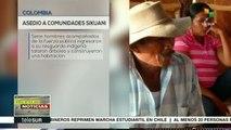 Denuncian violencia contra comunidades sikuani en Colombia