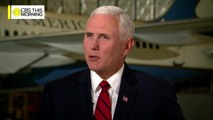 """Full interview: Vice President Mike Pence on """"CBS This Morning"""""""