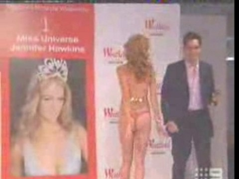 Jennifer Hawkins Miss Universe - incidente