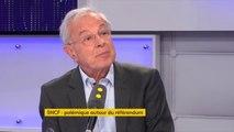 """Vot'action des cheminots : """"Pourquoi pas un référendum avec les clients de l'entreprise ? Pourquoi pas un référendum auprès des contribuables qui payent les déficits et qui auront à payer la dette de la SNCF ?"""", réagit Alain Lamassoure"""