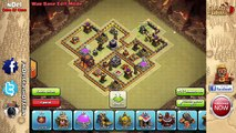Clash Of Clans: TH9   BEST Clan War Base Layout (2 x Air Sweepers) - Atom 9