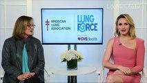 Shantel VanSanten Joins LUNG FORCE to Raise Awareness of Lung Cancer