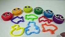 Aprende Los Colores con Play DOh - Animales de Colores - Videos Para Niños | FunKeep