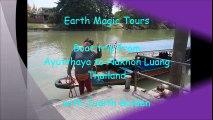 Boat Taxi from Ayutthaya to Nakhon Luang, Thailand