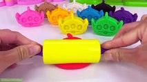 Fun Learning Numbers with Play Doh Toy Story Aliens Fun for kids