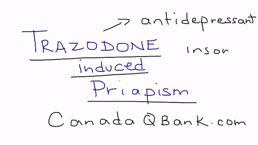 139_Trazodone induced Priapism
