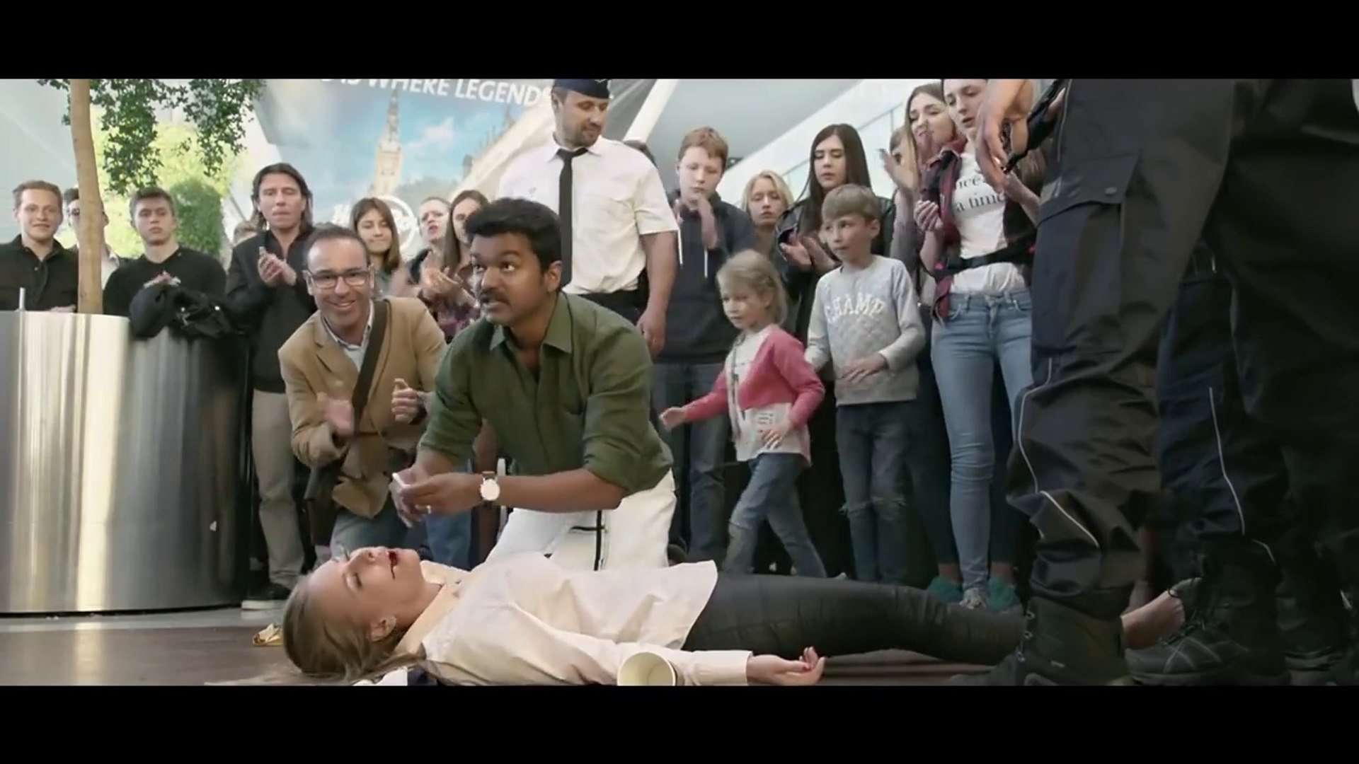 Airport Scene in Mersal movie