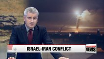Israel strikes Iranian targets in Syria after rocket fire on Golan Heights