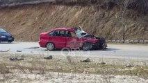 Ora News - Përplasen dy automjete në Kukës, 1 i vdekur