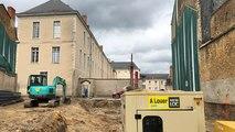 Résidence Jean Monnet : le chantier a repris