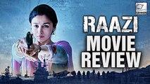 Raazi Movie Review | Alia Bhatt, Vicky Kaushal