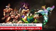 Jojo's bizarre adventure all star battle : adaptation jeu manga