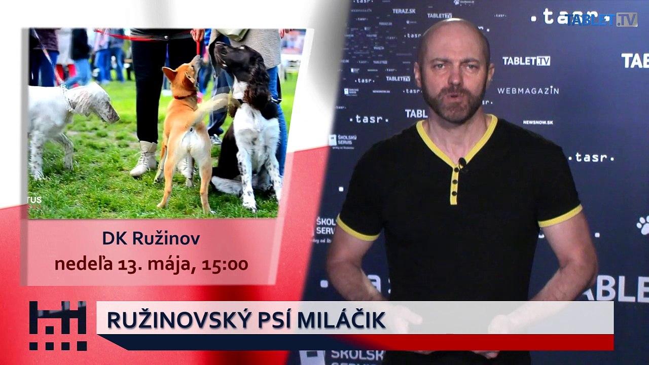 POĎ VON: Míľa pre mamu a Ružinovský psí miláčik