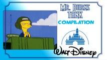 MR. BURNS TANK : Walt Disney Compilation (English)