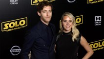 "Thomas Middleditch and Mollie Gates ""Solo: A Star Wars Story"" World Premiere Red Carpet"