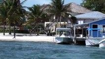Moving to Belize Grand Baymen snorkel trip begins!  Living