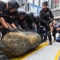 Une bombe de la Seconde guerre mondiale extraite au coeur de Hong Kong