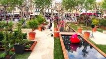 Comment Vence a transformé sa place principale en jardin éphémère