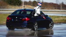 BMW sets two GUINNESS WORLD RECORDS for drifting in the new BMW M5