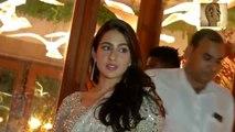 sonam kapoor grand wedding reception Aishwarya Rai, Sara Ali Khan,Jaya Bachchan, Sonam Kapoor, Karan Johar Dance Video goes VIRAL