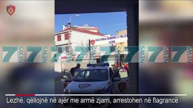 TERRORIZUAN QYTETIN E LEZHES, POLICIA ARRESTON TRE TE RINJTE  - News, Lajme - Kanali 7