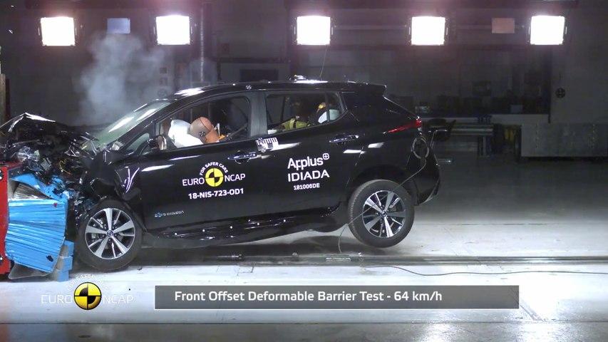 Nissan LEAF - Crash Tests 2018