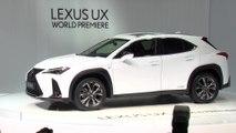 Lexus UX Reveal at Geneva Motor Show