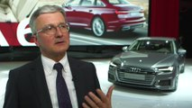 2018 Geneva Motor Show Press Day – Interview with Rupert Stadler, CEO Audi