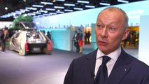 Geneva Motor Show 2018 Press Day - Interview with Laurens van den Acker and Thierry Bolloré, Renault