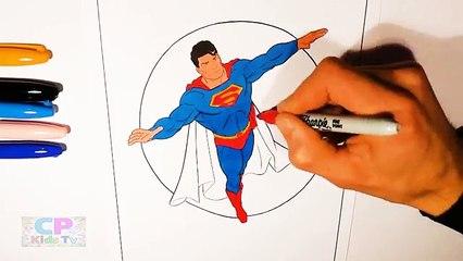 Superman Coloring Pages for Kids Part 6 , Superman Coloring Pages Fun ,Coloring Pages Kids Tv