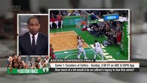 Stephen A. Smith goes off about LeBron James vs. Celtics without Kyrie Irving   First Take   ESPN