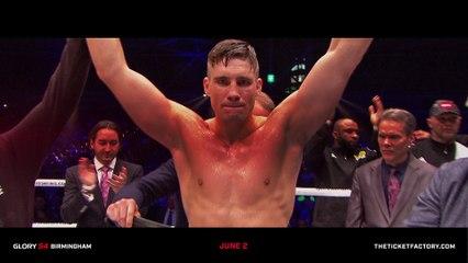 2 Title Fights 1 Night | GLORY 54 Birmingham - Tickets on Sale