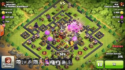 REPLAYS of Th10 War Base! - The Box Fence | Anti 2 Star! | Clash Of Clans