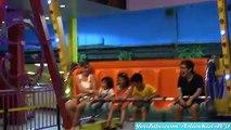 Indoor Amusement Rides: Kiddie Roller Coaster and Happy Swing Ride w/ Gareth! AsianKids TV31