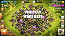 Clash Of Clans - TH9 AMAZING Anti Hog/balloon/Gowipe clan wars base!