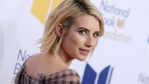 Emma Roberts Shows Off Her Pink Hair on Instagram