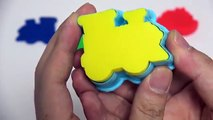 Play Doh Vehicle Learn Colors Modelling Clay Molds Finger Family Baby Nurser Rhymes For Kids