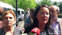 Johanna Rolland, la maire de Nantes, appelle au calme après les émeutes de la nuit