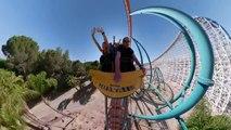 Montagnes russes filmées en 360 : impressionnant !