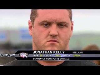 UKs Strongest Man 2013 Monster Strong Log Lift