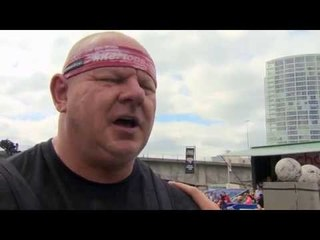 Ultimate Strongman Masters Husafell Stone 2013