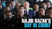 EVENING 5: Najib Razak charged, AG heckled