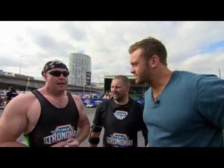 Ultimate Strongman Masters Car Dead Lift Hold