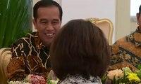 Bahas Rancangan KUHP, Jokowi Bertemu Pimpinan KPK