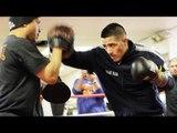 Brandon Rios COMPLETE MITT WORKOUT with Robert Garcia!