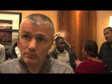 Jim McDonnell Talks James DeGale v Marco Antonio Periban & Carl Froch Situation