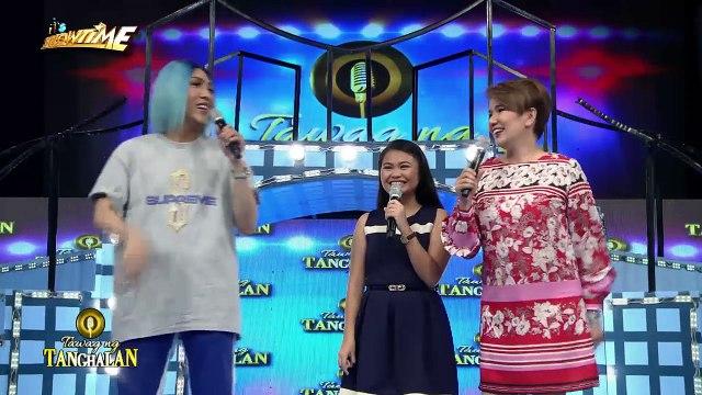 Tawag ng Tanghalan: Mariel receives a gong!
